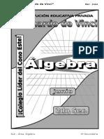 3. Junio – Algebra - 2do