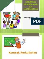 Strategi Pembelajaran Matematika Teori Piaget