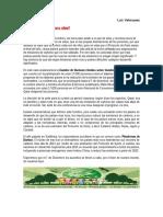 Luis Salvador Velásquez Rosas - La COP 18, sirve para algo?
