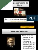 Pensamiento de Marx