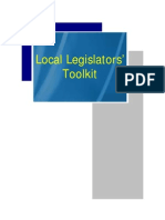 Local Legislators Toolkit