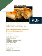 La Empanada Argentina