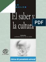 El Saber y La Cultura