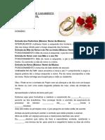 Cerimonial Casamento Civil Copiar