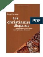 Les Christianismes Disparus