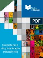 LINEAMIENTOS EDUCACIÓN INICIAL