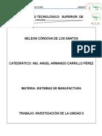 Unidad II Indicadores y Parámetros Básicos en Los Sistemas de Manufactura