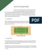 Ukuran Dan Jenis Lapangan Olahraga (Olin)