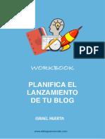 Planifica El Lanzamiento de Tu Blog