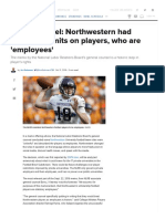 NLRB Counsel_ Northwestern Had 'Unlawful' Limits on Players, Who Are 'Employees' - CBSSports