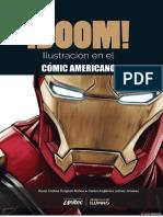 BOOM Ilustracion en El Comic Americano