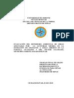 067-Tesis-Evaluacion Del Deterioro Ambiental de Areas Afectadas Por La Actividad Minera