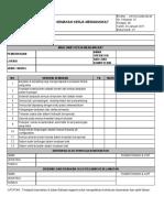 Lifting Checklist