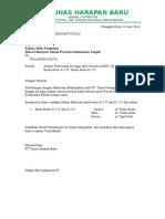 Surat Permohonan Job Desaign Mix Beton