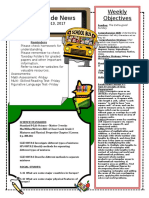 3rd grade newsletter jan 9-13 2c2017