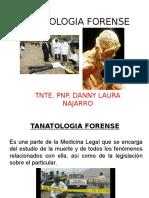 TANATOLOGIA FORENSE-DIRCOTE