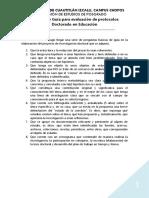 RUBRICA Guía Para Evaluación de Protocolos (1)