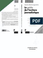 Le Guide Journalistique
