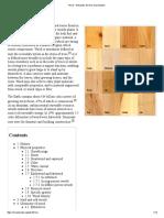 Wood - Wikipedia, The Free Encyclopedia