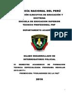 Silabus de Interrogatorio Policial III Sem Invest Criminal - Copia