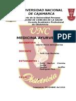 Informe Medicina Ayurveda