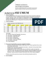 Praktikum Kimia Dasar - Asistensi Umum p. Mat p.bio
