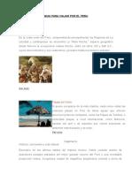 Guia Para Viajar Por El Peru