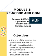 Module 1 Session 3 O&M Considerations 6.25.2015