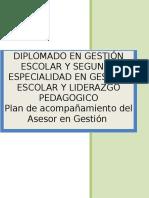 7. Estructura Del Plan de Acompañamiento AGE