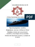 linea del tiempo de los submarinos