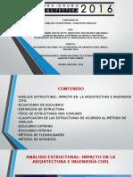 Presentación Del Libro de Análisis de Estructuras