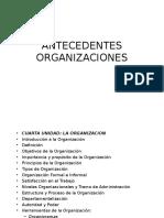 Clase 4 Antecedentes de Las ORGANIZACIONES I
