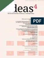 Ideas.revista de Filosofía Moderna y Contemporanea Nº4