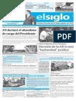Edición Impresa Elsiglo 10-01-2017