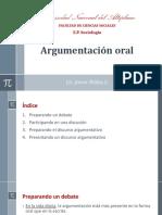 Argumentación Oral