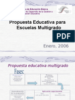 PROPUESTA EDUCATIVA MULTIGRADO 2005.ppt