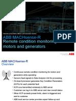 ABB MACHsense-R_customer Presentation