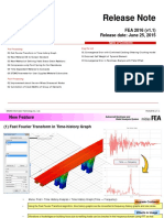 FEA 2016 v11 Release Note
