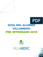 Pre Internado 2016 - Febrero Virtual - Cronograma