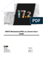 ANSYS Mechanical APDL as a Server Users Guide