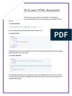 CSS Booklet