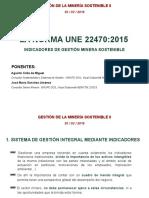 160330 Gestión Minería Sostenible II - GRUPO SOIL (Indicadores de Gestión Minera Sostenible)
