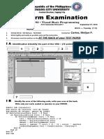 MELJUN CORTES TCU_Midterm_Exam_CS216_Visual_Basic_Programming