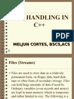 MELJUN CORTES FILE_Handler_C_Lecture