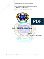 Ee6211 Electric Circuits Lab