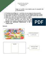 Proyecto de Lectura 3er Bimestre Espanol II 15 16