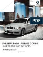 BMW Ensures the Class in the Sporty 1 Series