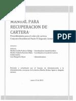 Manual Recuperacion Cartera 02 2015