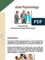Industrial Psychology Ppt