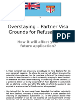 Overstaying – Partner Visa Grounds for Refusal in NZ